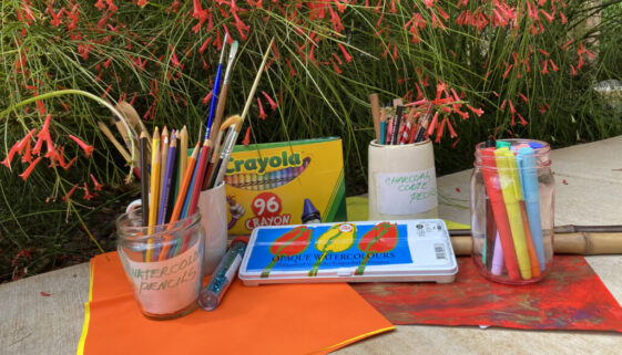 Colorful Art Journaling: An Escape to a Happy, Magical Place